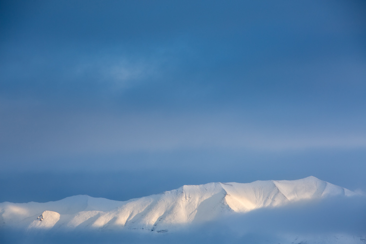 Image: White Balance set to 5100K overall with warmth added to the top of the mountains using the Ad...