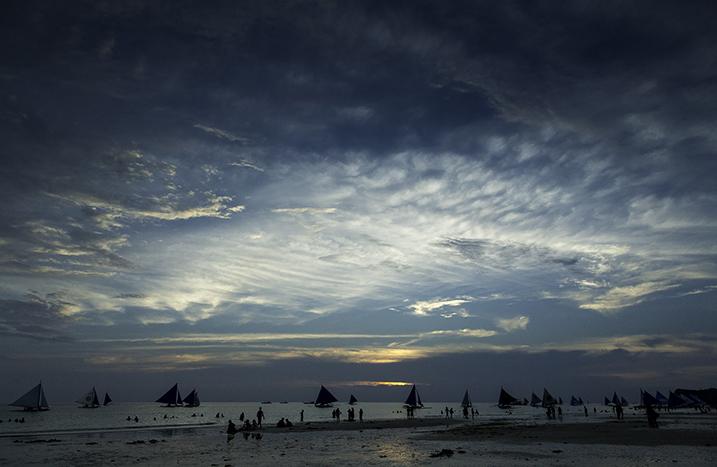 Image: Boracay sunset, Philippines.