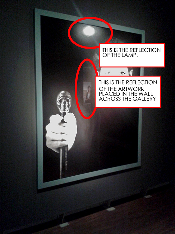 Reflection Mistakes - museum