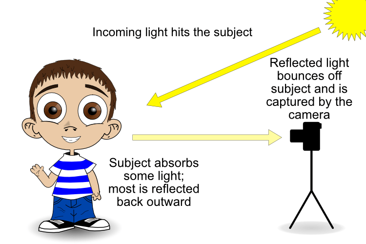 reflective metering - camera light meter