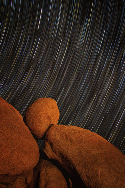 Star trails at Joshua Tree National Park, California - Advanced Shooting Modes: What They Are and When to Use Them