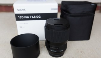 Quick Review of the Sigma 135mm F1.8 DG HSM Art Lens