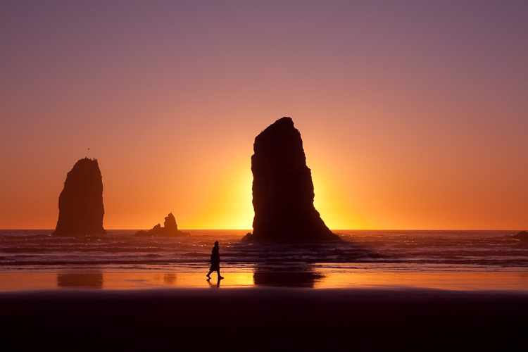 Canon Beach, Oregon, by Anne McKinnell - better photographer