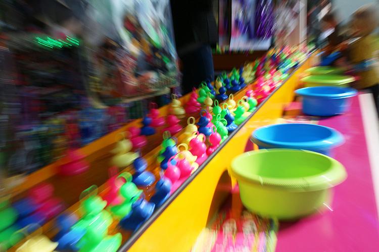 Ducks shutter speed