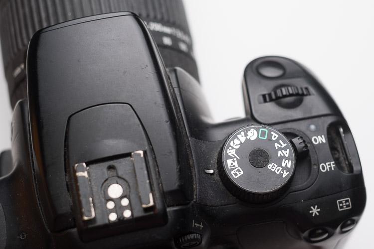 retratos noturnos modo de cena noturna em uma câmera