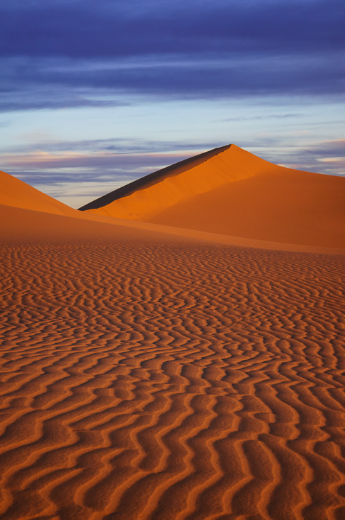 North Algodones Sand Dunes, California by Anne McKinnell - How to Compose Photos with Impact Using Elements of Design