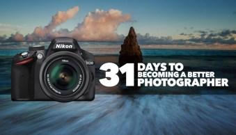 31 Days to Becoming a Better Photographer