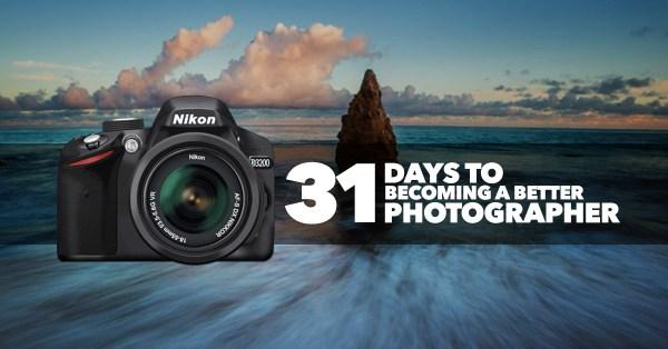 31 days become a better photographer