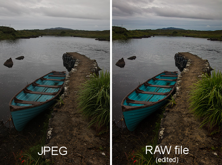 how to convert raw to jpeg in canon 700d