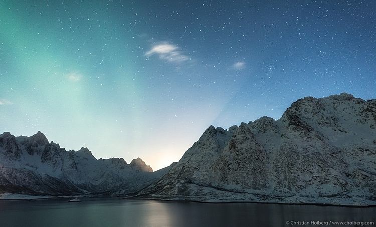 moonrise in lofoten - Tips and Tricks for Night Photography the Starry Sky