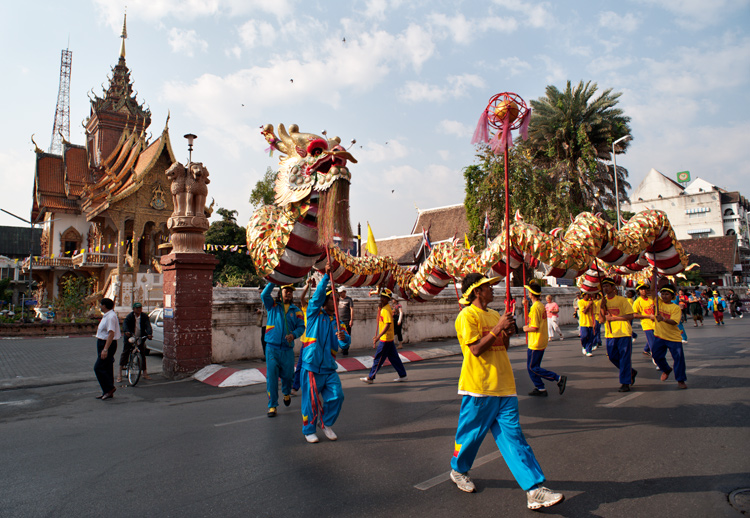 Chinese New Year parade with a ceremonial dragon - How to be Better Prepared for Your Next Photo Shoot