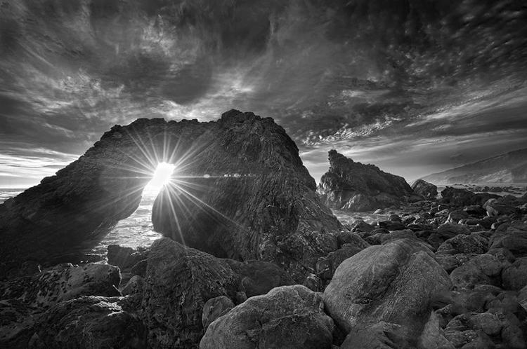 morning light seascape