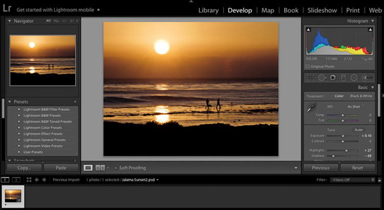 Lightroom Banner - Don't Fear Photo Editing - Shooting is Only the First Part of the Image Creation Process