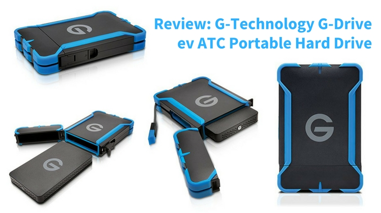 Review G Technology G Drive ev ATC Portable Hard Drive