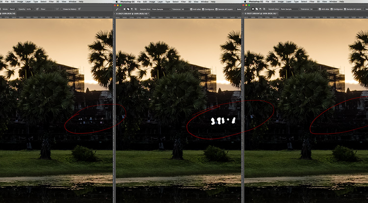 Cloning demo - 5 Reasons for Lightroom Photographers to Use the Edit In Photoshop Feature