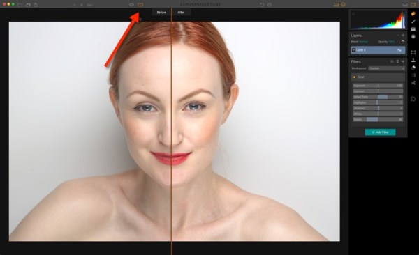 How to do Portrait Retouching With Luminar