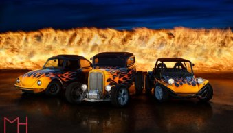 Hot Rod Flame for Flame – How the Shot was Made