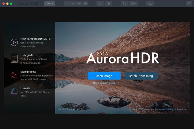 Macphun Aurora HDR Photo Editing