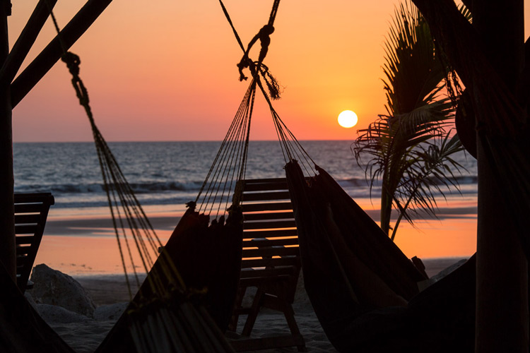 Image: Another Nicaraguan sunset. Add an interesting subject in front of your sunset for a more dram...