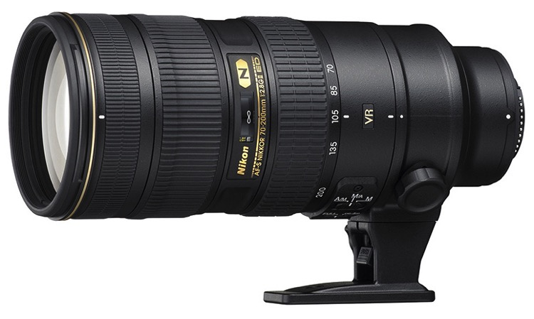 Nikon 70-200mm lens