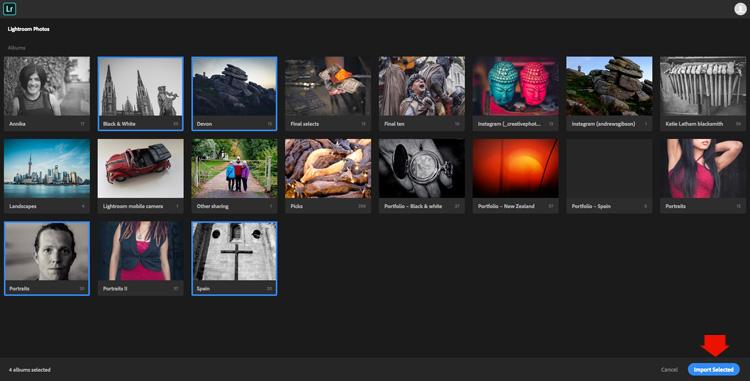 Adobe Portfolio Lightroom
