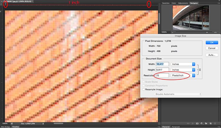 Pixel Density 72dpi - How to Understand Pixels, Resolution, and Resize Your in Photoshop Correctly