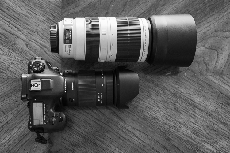 Tamron 18-400mm - size comparison