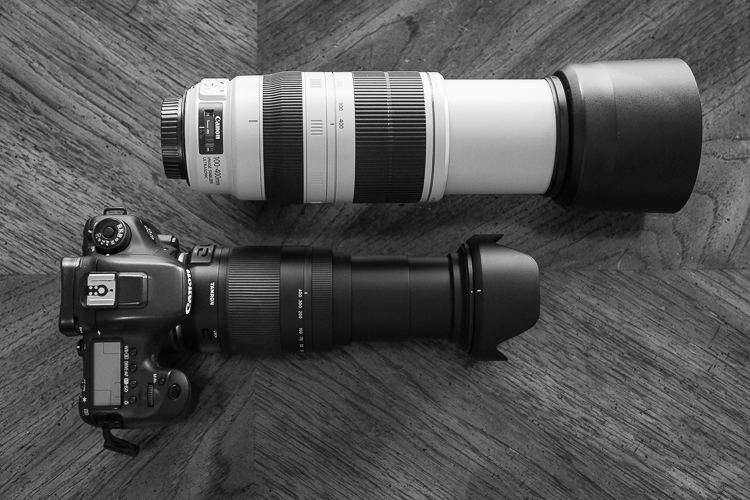 Tamron 18-400mm lens comparison - extended
