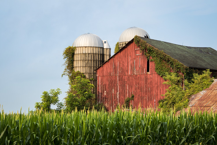Tamron 18-400mm - Red barn