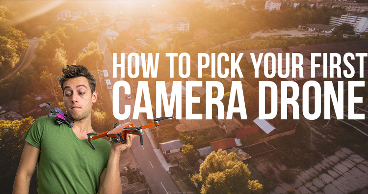 How to pick your first camera drone