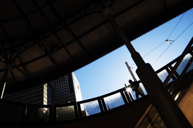 如何在城市环境中使用取景