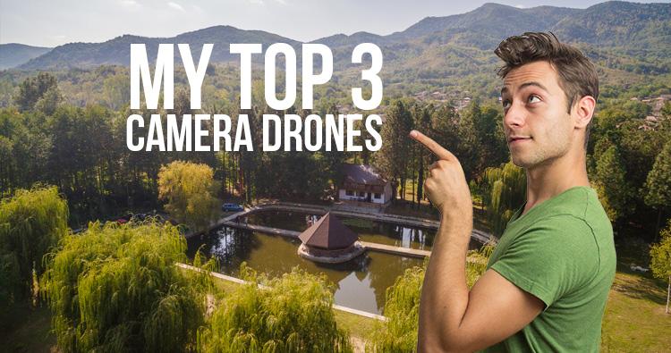 Top 3 camera drones