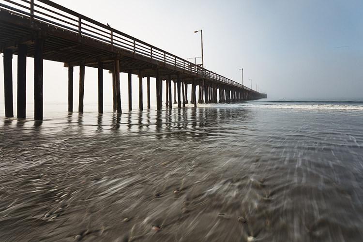 Avila Beach Pier After Luminar 2018 RAW Develop