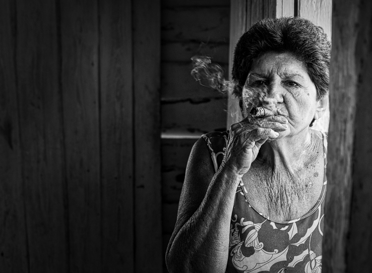 Weekly Photography Challenge - Black and White Portraits