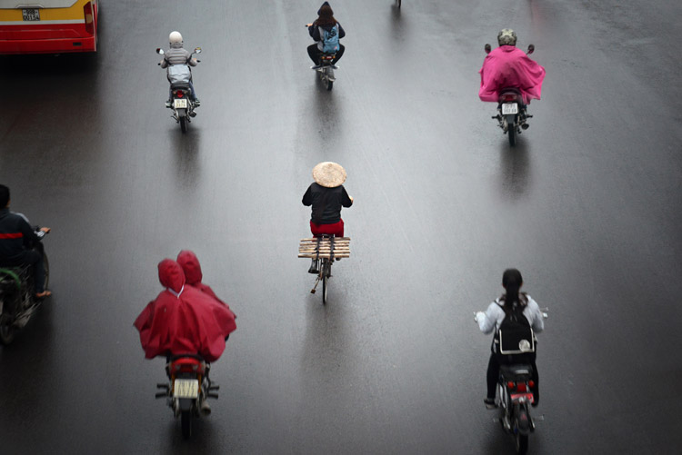 Patterns on the Streets of Hanoi - Putting the Fine Art into Travel Photography