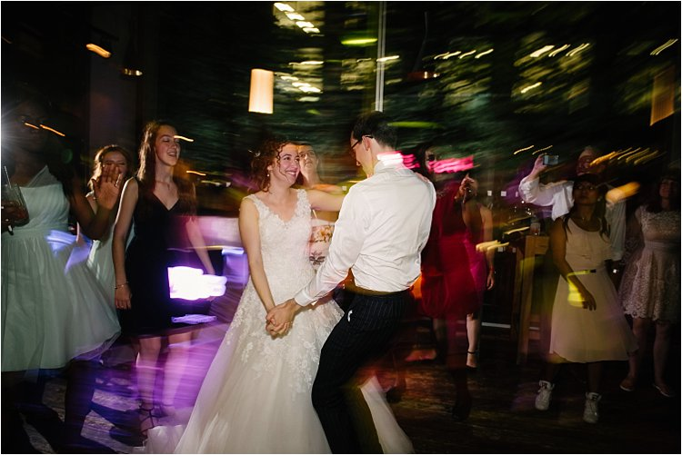 Image: This image was created with a diffused flash pointed directly at the couple (camera in front...
