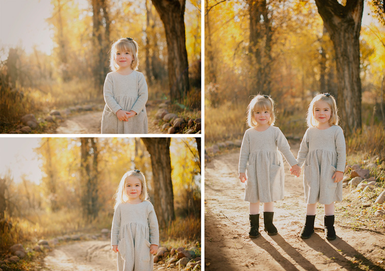 How to Make the Most of Magical Morning Light - golden portraits of two girls