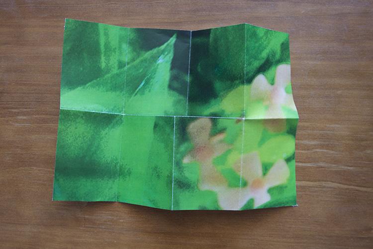如何制作和折叠一点摄影杂志
