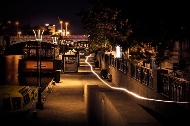Nikon D850 night photography