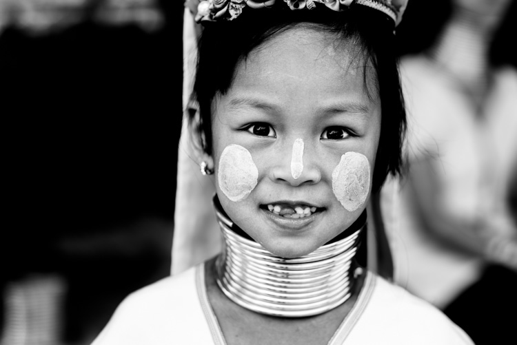 Kayan girl with a front tooth missing. 3 Key Tips for Making More Dynamic Photographs