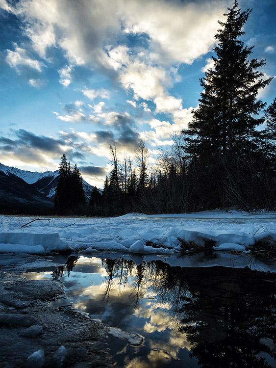 Lagen en neerslaginteresse gebruiken voor betere landschapsfotografie