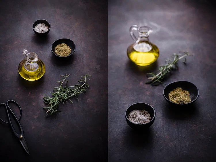 Olive Oil -Five Essentials of Doing Dark Food Photography