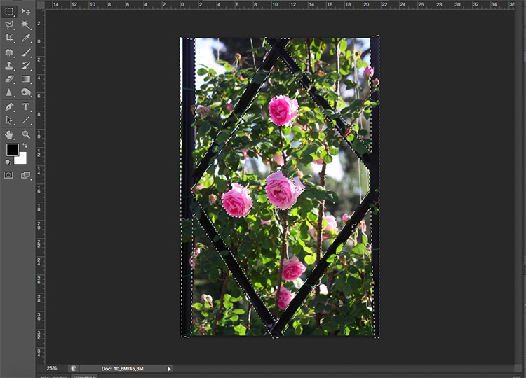 Selection - How to Use Layers and Masks to Add Text to Your Photos