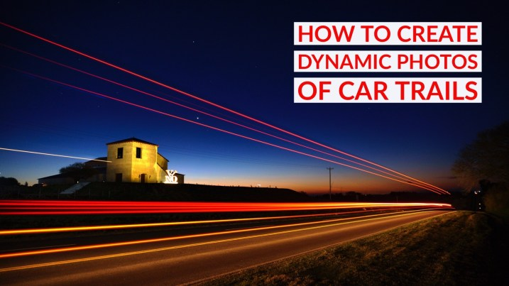 how to create light trails in photoshop