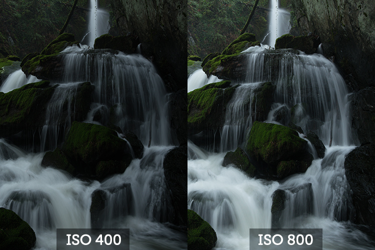 Increase ISO as a last resort - waterfall tips