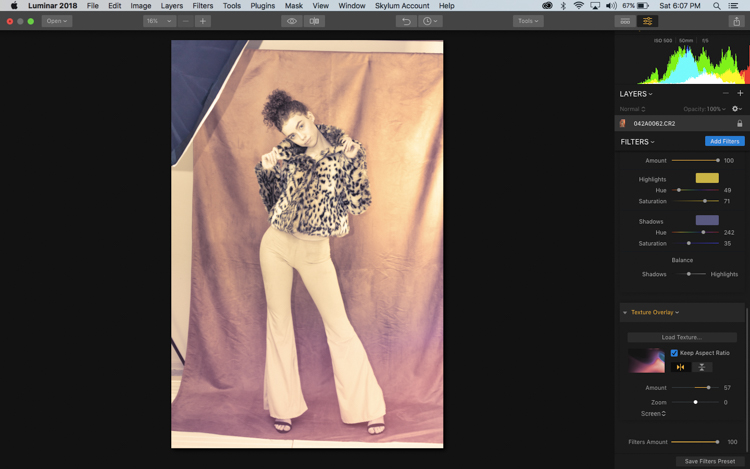 How to Create a Retro Look for Your Images with Luminar