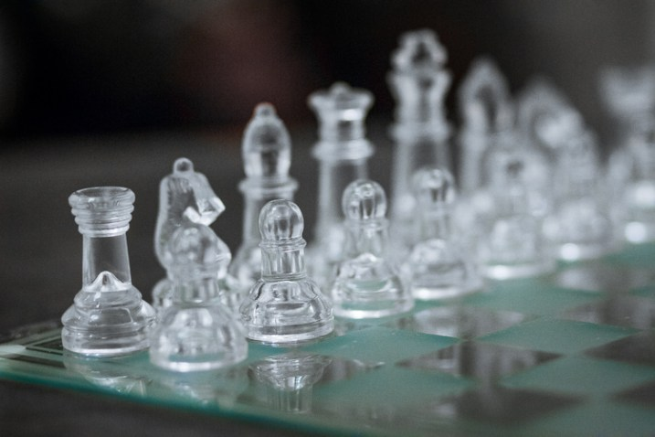 A chess board image with missed focus - Focus Challenges and How Live View Can Help You Get Razor-Sharp Images