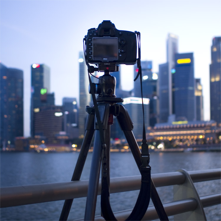 Tripod - How to Find the Best Possible Time to Shoot Cityscapes at Blue Hour