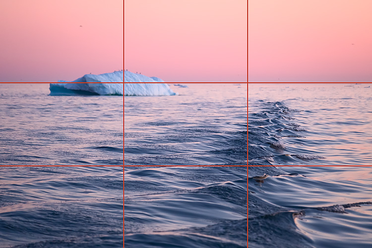005 Rule of thirds precise - 5 Tricks to Make Your Landscape Photos Stand Out