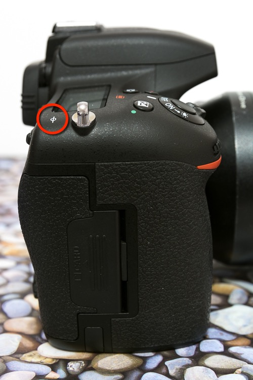 2 focal plane mark - Working with Different Focal Lengths for Macro Photography